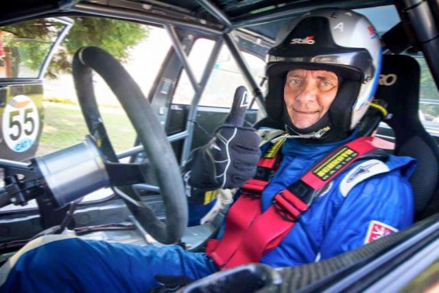 Automobilový závodník Jaromír Malý