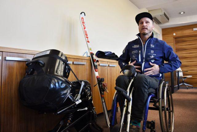 Pavel Bambousek se chystá na zimní paralympiádu