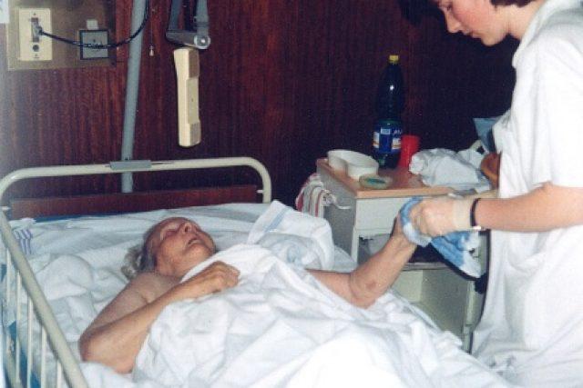 V nemocnici | foto:  Archiv České biskupské konference
