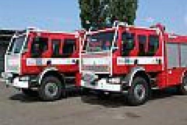 Požární vozidla