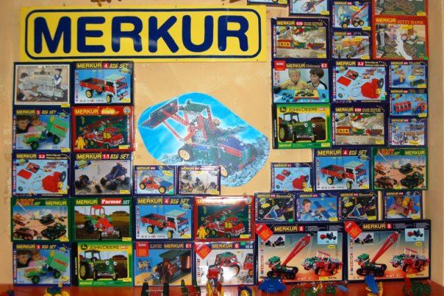 Stavebnice Merkur - hračka s více jak osmdesátiletou tradicí | foto: Hynek Bulíř