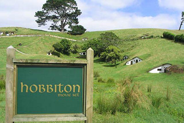 Hobitín, filmová vesnička na Novém Zélandu