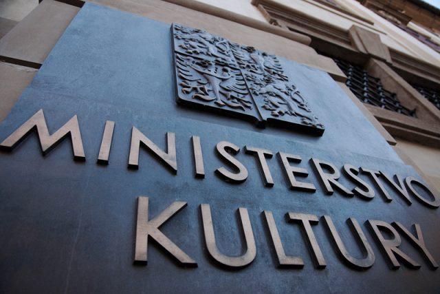 Ministerstvo kultury. Ilustrační foto.