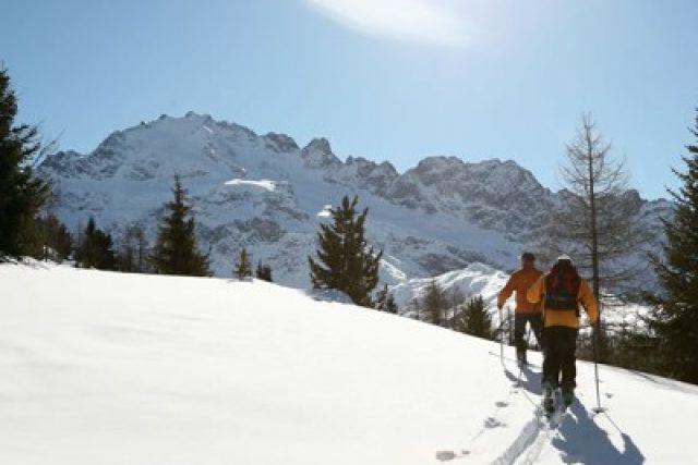 Skialpinisté | foto: Roby Trab,   Santa Caterina Valfurva
