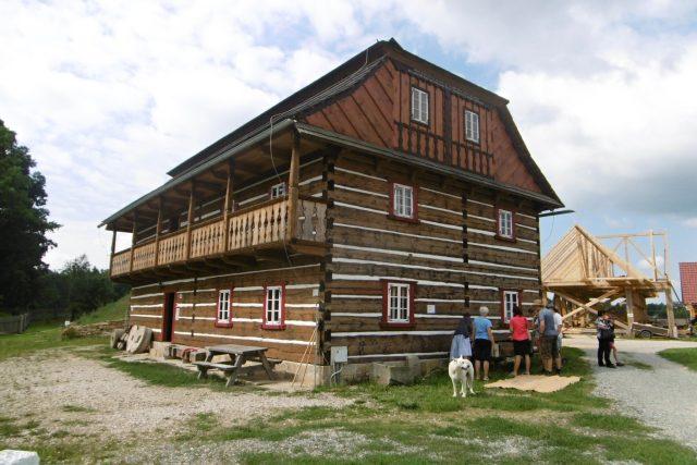 Vodní mlýn v Podorlickém skanzenu v Krňovicích   foto: Milan Baják,  Český rozhlas,  Český rozhlas