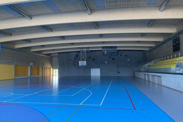 Nová sportovní hala v Lipníku nad Bečvou