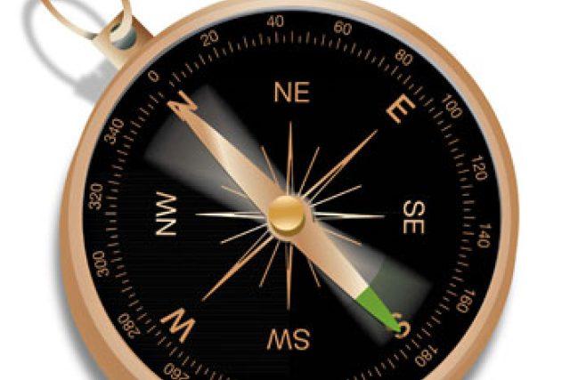 kompas, cestování