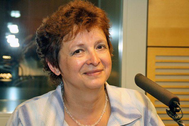 Vladimíra Dvořáková   foto: Šárka Ševčíková,  Český rozhlas