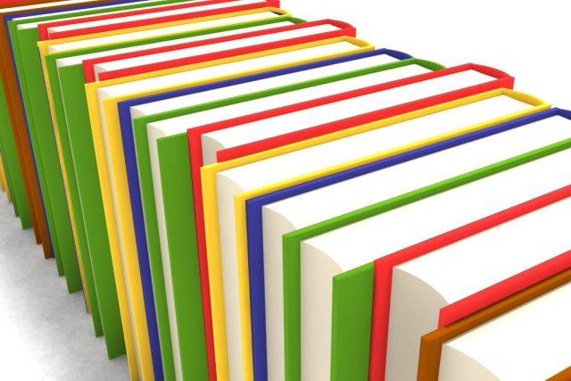 Knihy, ilustrační obrázek od Svilena Mileva