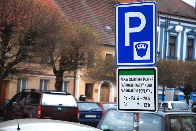 Placené parkování