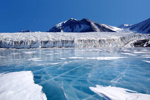 Jezero Fryxell, Antarktida