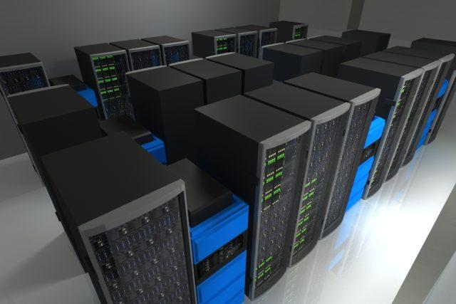 Superpočítač - vizualizace