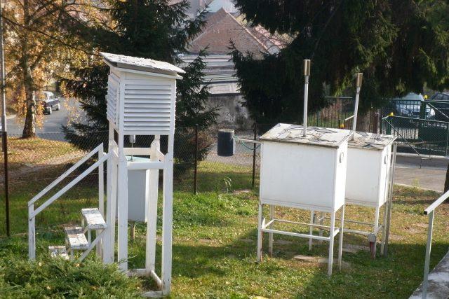 Meteorologické měřící přístroje   foto: Vladan Dokoupil