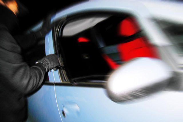 Krádež auta (ilustrační foto)