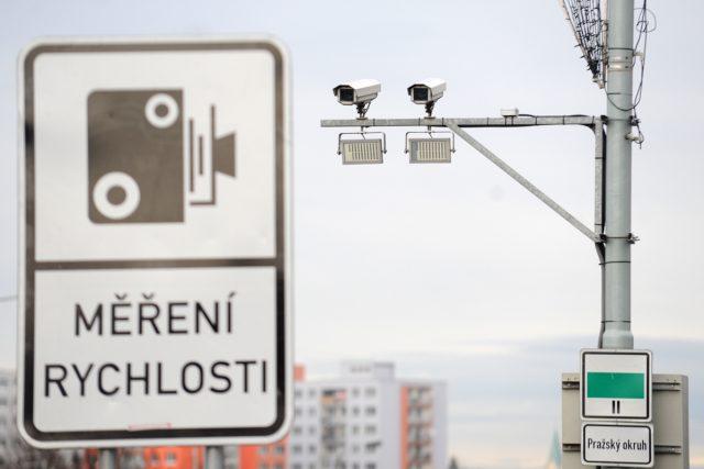 Bezpečnostní kamery,  kamery na měření rychlosti | foto: Filip Jandourek,  Český rozhlas