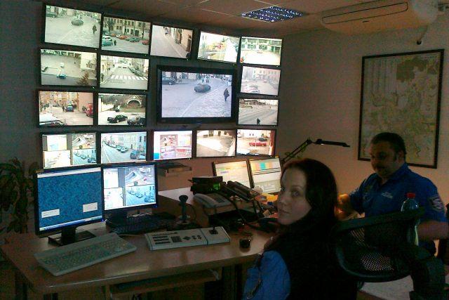 Bezpečnostní kamerový systém městských strážníků
