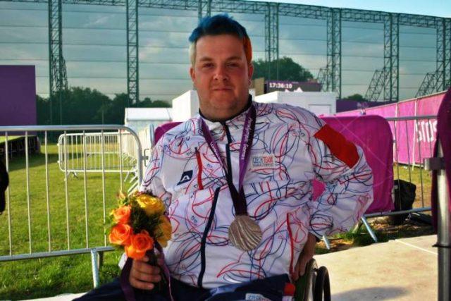Stříbrný medailista z londýnské paralympiády David Drahonínský