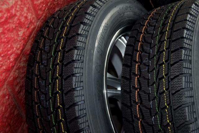 Nové zimní pneumatiky (ilustrační foto)