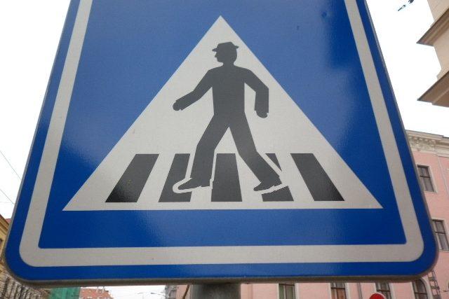 Přechod pro chodce - ilustrační foto