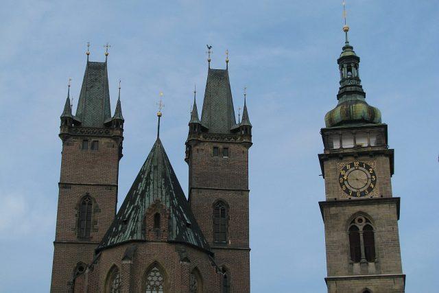 Katedrála a Bílá věž v Hradci Králové | foto: Milan Baják,  Český rozhlas
