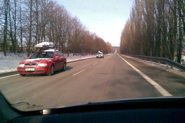 Cesta z hor. Trutnov