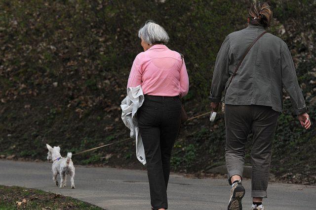 Důchodci (ilustrační foto)