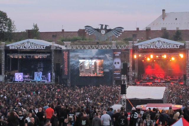 Festival Brutal Assault se koná v pevnosti Josefov u Jaroměře