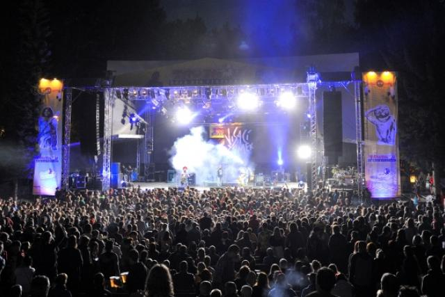 V trutnovském amfiteátru Na Bojišti začal hudební festival Open Air Trutnov