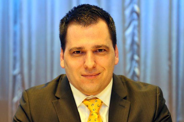 Kandidát do Evropského parlamentu KDU-ČSL,  Tomáš Zdechovský | foto: Filip Jandourek