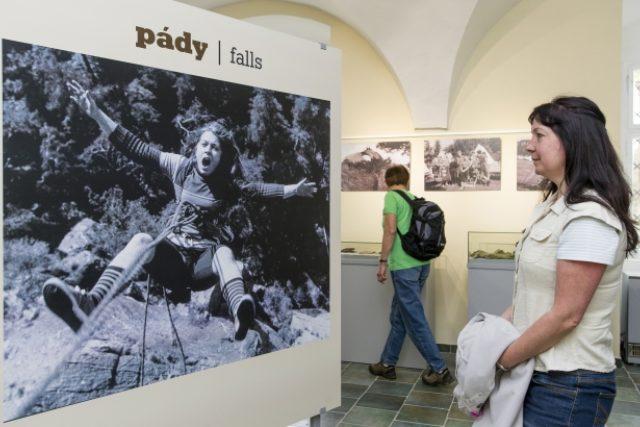 První horolezecké muzeum v Adršpachu na Náchodsku