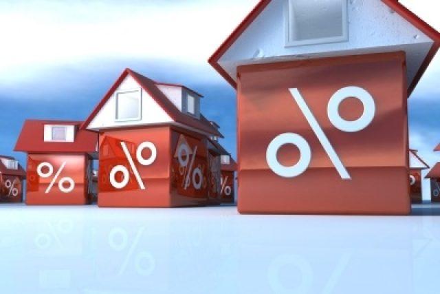 hypotéka, mortgage, procenta, dům, ilustrační foto