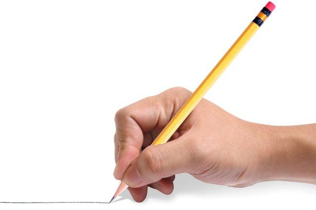 Psaní, tužka