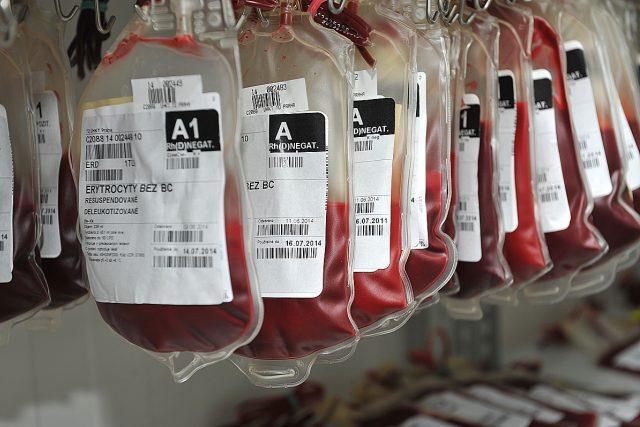 Daruj krev s českým rozhlasem,  darování krve,  krevní transfuze,  krev | foto: Filip Jandourek