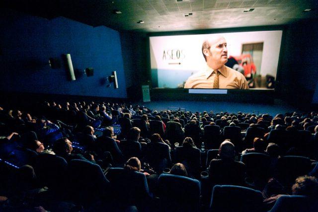 Diváci v kině | foto: Václav Jedlička,  Febiofest