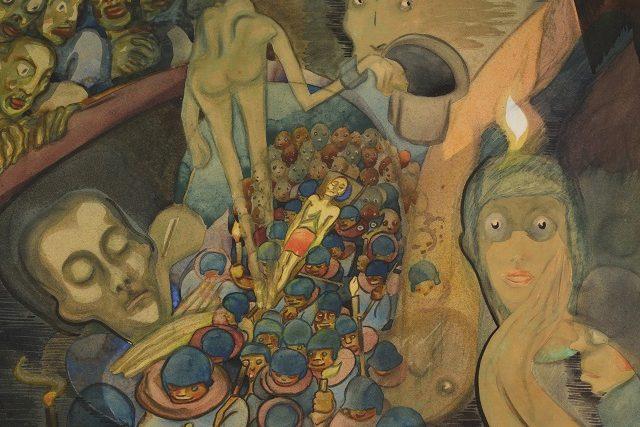 Josef Váchal, Sen mrtvého (1918)