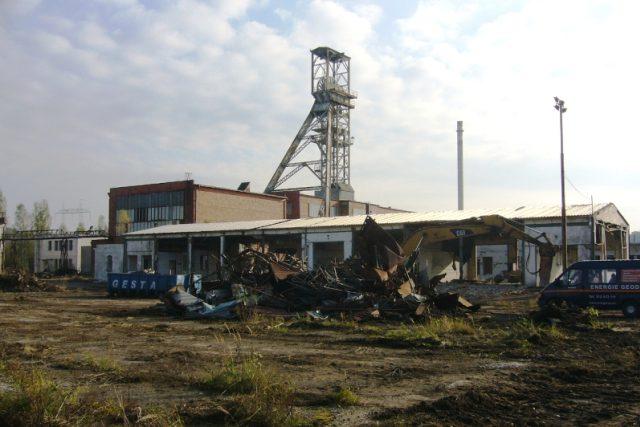 Nedaleko Hamru na Jezeře na Českolipsku začala likvidace areálu po hlubinné těžbě uranu
