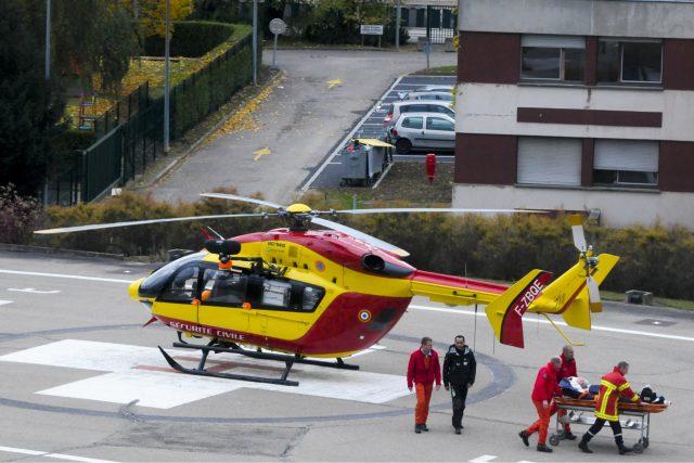 Letecká záchranka. Ilustrační foto