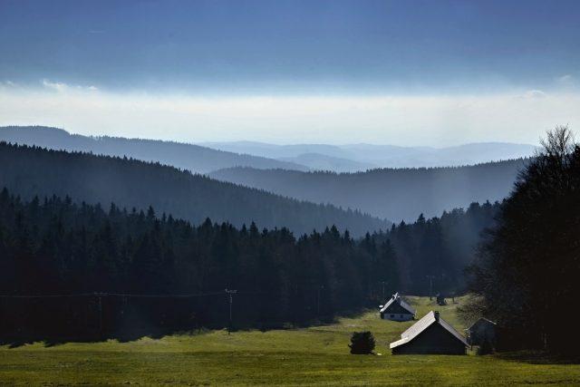 Výhled od Masarykovy chaty | foto: Jiřina Šmídová,  Český rozhlas