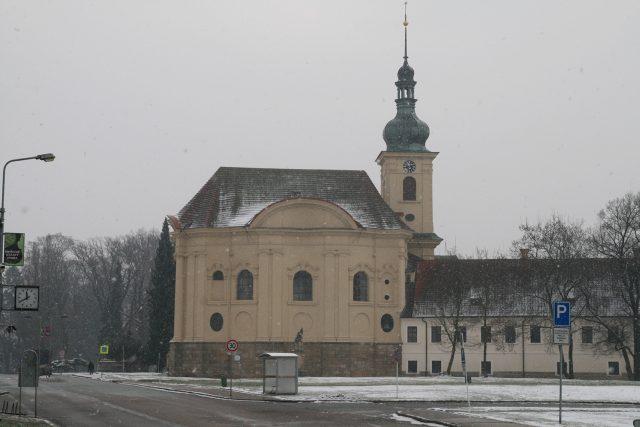 Zámecká kaple je dominantou Smiřic