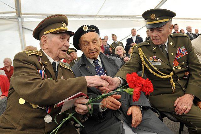 Oslavy 70. výročí osvobození Ostravy