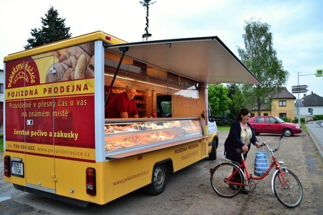 Pojízdná prodejna pekařství