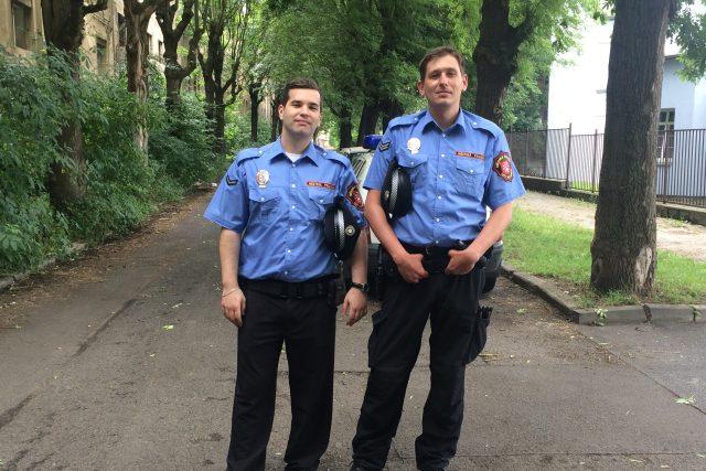 Městská policie v Ústí nad Labem - letní uniformy