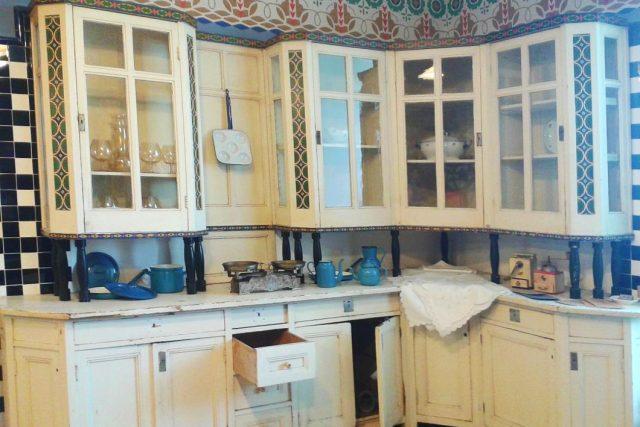 V secesní kuchyni na zámku v Novém Městě nad Metují vařili i pro prezidenta Masaryka