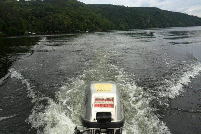 Čluny půjčují na přehradách jakoOrlík, Slapy nebo Rozkoš