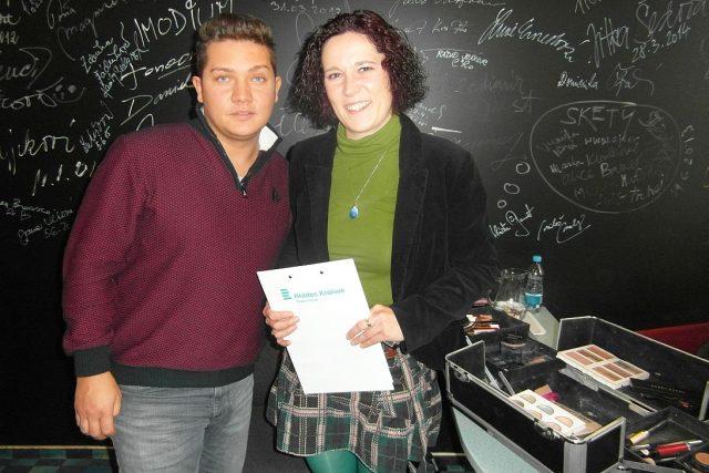 Pity ze salonu Bello s moderátorkou Lucií Peterkovou v Radioklubu Českého rozhlasu Hradec Králové