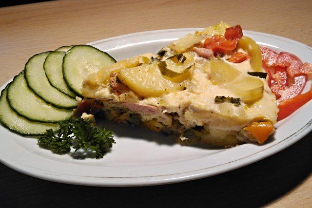 Bramborová tortilla po španělsku | foto: Mirka Kuntzmannová,  Český rozhlas