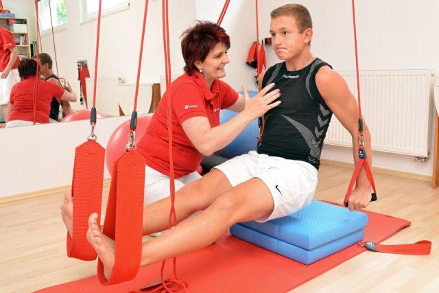 Královéhradecká fyzioterapeutka Alice Hamáčková