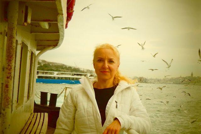 Pavla Apostolaki žije ve městě dvou kontinentů - v Istanbulu