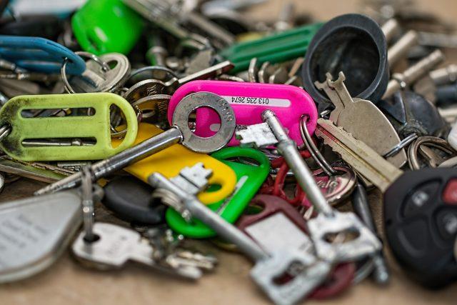 klíče, klíč