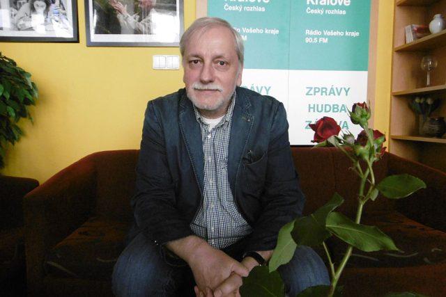 Pátečním hostem Českého rozhlasu Hradec Králové byl režisér Zdeněk Zelenka | foto: Milan Baják,  Český rozhlas